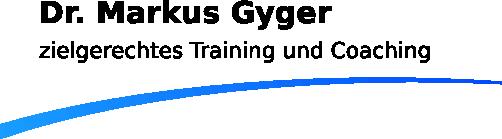 Dr. Markus Gyger Logo