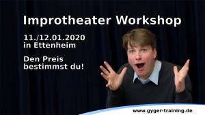 Workshop: Improtheater für Bühne und Selbstbewusstsein
