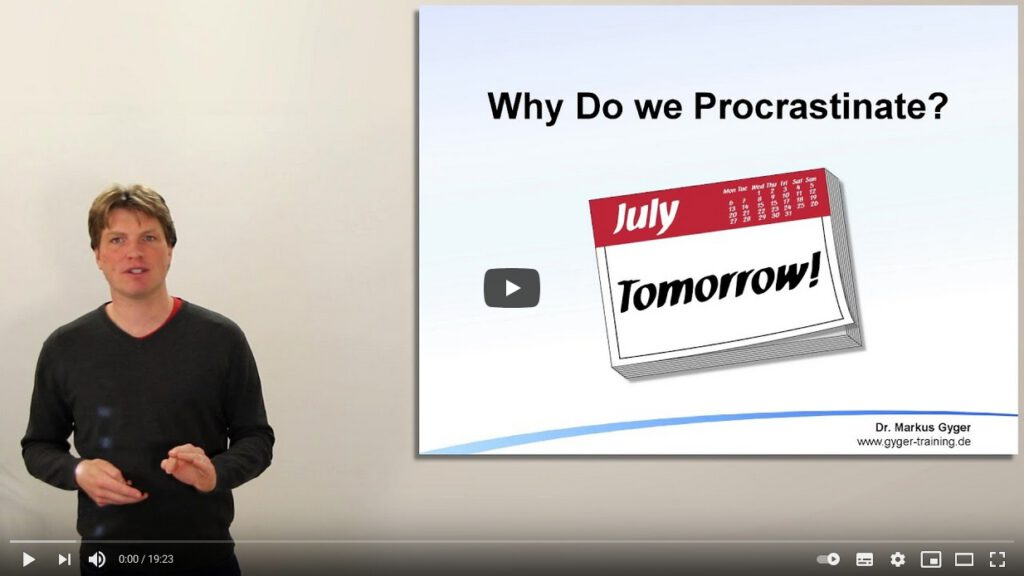Bild: Why Do we Procrastinate?