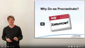 Video: Warum prokrastinieren wir?